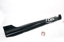 Комплект порогов - Модель Mugen - Тюнинг Хонда Сивик 4Д (8, рестайлинг)