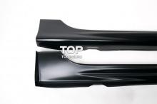 4552 Комплект боковых порогов Mugen RR на Honda Civic 4D (8)