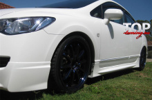 4552 Комплект боковых порогов Mugen ABS на Honda Civic 4D (8)