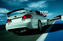 Спойлер на крышку багажника - Обвес Мюген - Тюнинг Хонда Сивик 4Д