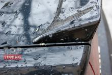 Тюнинг - Лип спойлер на крышку багажника Хонда Сивик 8(рестайлинг)