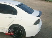 Накладка - козырек на заднее стекло на Хонда Сивик 8(рестайлинг)