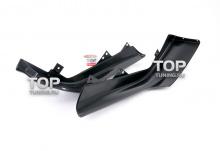 4557 Накладки на передний бампер Sport на Honda Accord 8