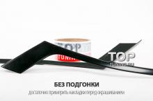 4559 Накладки - Реснички на фары на Honda Accord 8