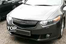 4564 Тюнинг - Решетка радиатора Mugen на Honda Accord 8