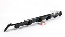 4567 Накладка - диффузор заднего бампера на Honda Accord 8