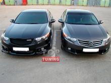Тюнинг - Решетка радиатора Mugen Sport на Хонда Аккорд 8