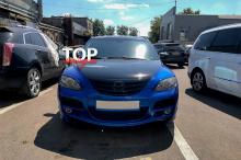 4571 Тюнинг - Реснички Light V2 на Mazda 3 BK