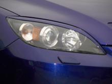 4572 Тюнинг - Реснички Light на Mazda 3 BK