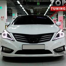 Тюнинг - Светодиодные ходовые огни на Hyundai Grandeur