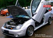 Ламбо двери (комплект петель) для Форд Фокус 1 (Хэтчбэк).