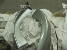 Тюнинг Митсубиси Лансер 10 (Х) - Клыки на передний бампер INT Sport.