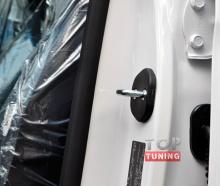 Заглушки на скобу двери комплект: 4 шт. на Киа Соренто 2