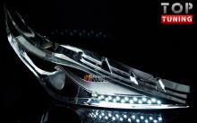 Светодиодные модули в фары от компании GoGoCar на Хендай Грандер 5