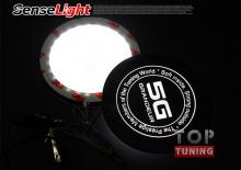 Декоротивная накладка с подсветкой от производителя Sense Light на Хендай Грандер 5