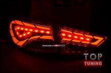 Тюнинг оптики - Светодиодные модули в задние фонари exLED на Хендай Элантра (рестайлинг)