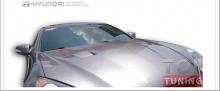 Тюнинг - Крышка капота от производителя ADRO на Хендай Генезис Купе