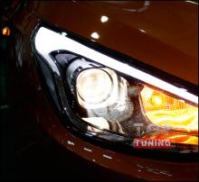Тюнинг оптики - Передние фары Mobis на Хендай ix35 ( Туксон)