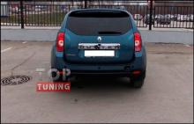 Тюнинг - Спойлер на крышку багажника на Рено Дастер 1