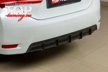 4663 Диффузор на задний бампер на Toyota Corolla E160