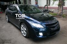 Комплект ресничек - Модель Line V1 - Тюнинг Mazda 6 GH