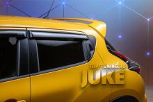 ТЮНИНГ НИССАН ДЖУК (YF15) 2010-2020 СПОЙЛЕР - АРКА GT ABS ПЛАСТИК / ПОД ОКРАСКУ