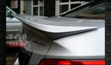Тюнинг  - Высокий спойлер на крышку багажника Сutter на Хундай Солярис