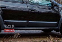 Тюнинг - Накладки боковых дверей на Рено Дастер