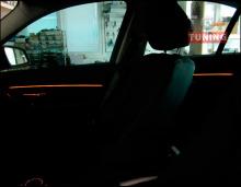 Тюнинг - Светодиодная накладка с подсветкой в салон BMW 3 F30 от компании Ambient
