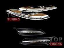Тюнинг оптики Киа Серато 3 - светодиодные дневные ходовые огни компании DPM
