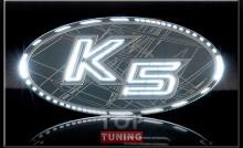 Тюнинг - Эмблемы, шилдики на Киа Оптима К5 от производителя Pegasus (Комплект 2 шт)