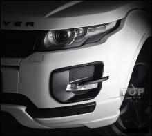Тюнинг - Накладка на передний бампер VERGE на Land Rover Evoque.