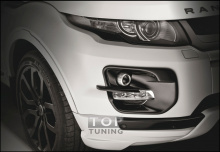 Тюнинг - Накладки на противотуманные фары VERGE Double Light для Land Rover Evoque.