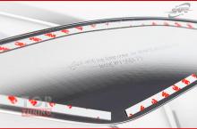 Стайлинг - Накладки на противотуманные фары SAFE для Хендай Елантра 5 (Аванте МД) (Рестайлинг)