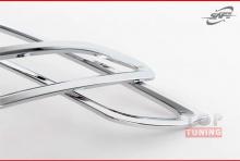 Молдинги (накладки) на задний бампер от компании SAFE для Хендай Элантра 5 (Аванте МД) Рестайлинг.