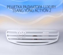 4726 Тюнинг - Решетка радиатора Luxury на Ssang Yong Actyon 2