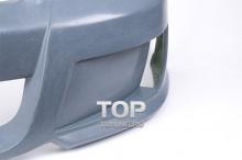 4735 Передний бампер Rieger Style на Chevrolet Lacetti