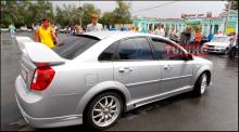 4750 Боковые пороги WTCC на Chevrolet Lacetti