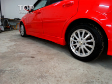 4751 Тюнинг - Пороги Sport на Chevrolet Lacetti