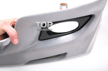 Накладка Мюген на передний бампер бампер - Тюнинг ХОНДА АККОРД 7 - Рестайлинг.