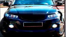Тюнинг Хонда Аккорд 7 (рестайлинг) - Юбка переднего бампера Mugen