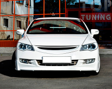 Тюнинг Хонда Сивик - Юбка переднего бампера Mugen
