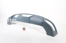 4778 Накладка на задний бампер Rieger на Opel Astra H 5D