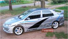 Тюнинг Митсубиси Лансер 9 - Спойлер на крышку багажника Evolution Style