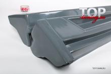 4787 Накладки на пороги Lorinser на Infiniti QX70 (FX35, 37, 50)