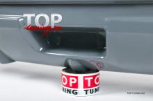 4788 Накладка на задний бампер Lorinser на Infiniti QX70 (FX35, 37, 50)