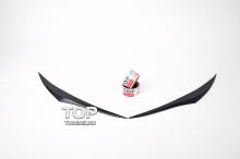 Реснички на фары - Модель Lorinser - Тюнинг Infiniti FX 2 (35,37,50)