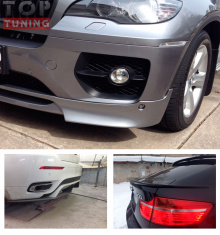 Аэродинамический обвес SRS-Tec - Тюнинг BMW X6 e71