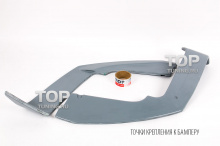 Тюнинг БМВ Х6 Е71 - Элероны под диффузор SRS-Tec
