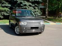 Тюнинг Range Rover Vogue - Юбка переднего бампера Zailer